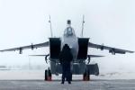 Tiêm kích MiG-31BM 'khóa chặt' Bắc Cực từ Novaya Zemlya