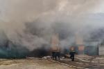 Cháy kho hàng cửa khẩu Bắc Phong Sinh