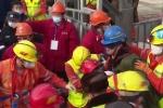 Giải cứu 11 thợ mỏ mắc kẹt 2 tuần dưới lòng đất ở Trung Quốc