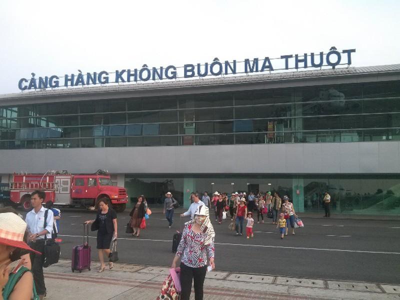 Sân bay Buôn Ma Thuột. Ảnh: Đ.Dũng.