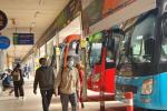 Dừng toàn bộ hoạt động xe khách từ TP.HCM đi Quảng Ninh, Hải Dương và ngược lại