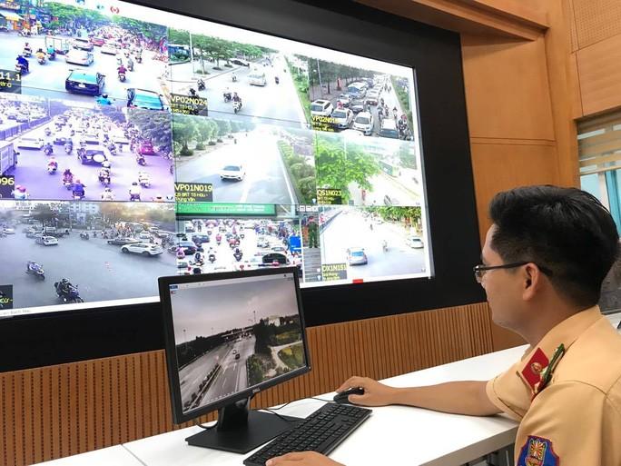 Trung tâm Giao thông và Điều khiển đèn tín hiệu giao thông Cục CSGT