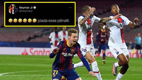 Neymar có nguy cơ bị phạt vì phát biểu linh tinh trên mạng xã hội