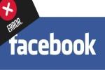 Nóng: Facebook đang lỗi trên diện rộng