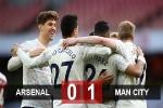 Kết quả Arsenal 0-1 Man City: Đánh bại Arsenal, Man City thắng trận thứ 18 liên tiếp