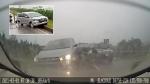 CLIP: Xe Innova mất lái gây tai nạn liên hoàn trên cao tốc Hà Nội - Thái Nguyên