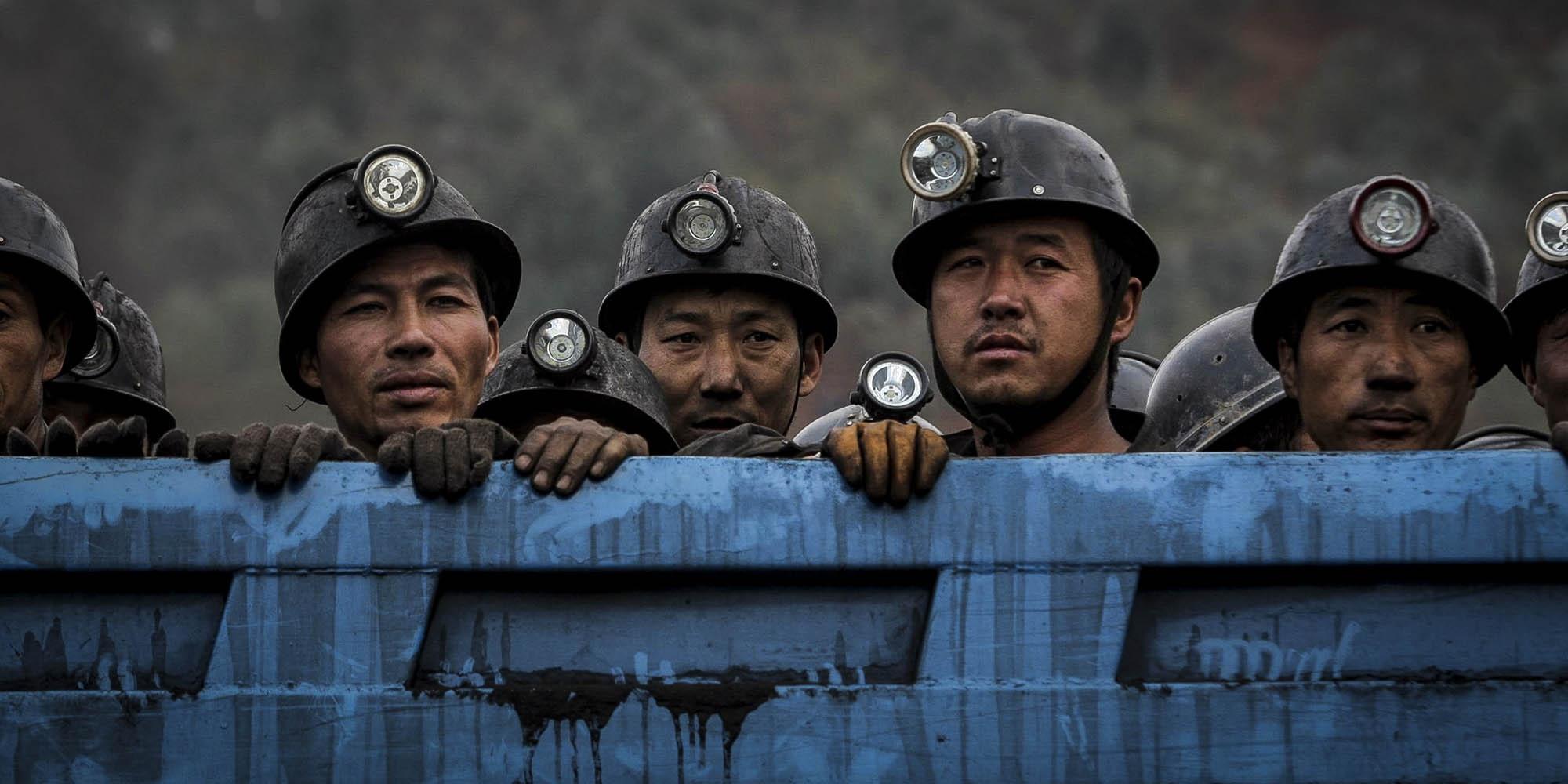 """Năm 2013, khoảng 20% trong số hơn 670.000 người mắc bệnh """"phổi đen"""" tại Trung Quốc tử vong. Ảnh: VCG."""