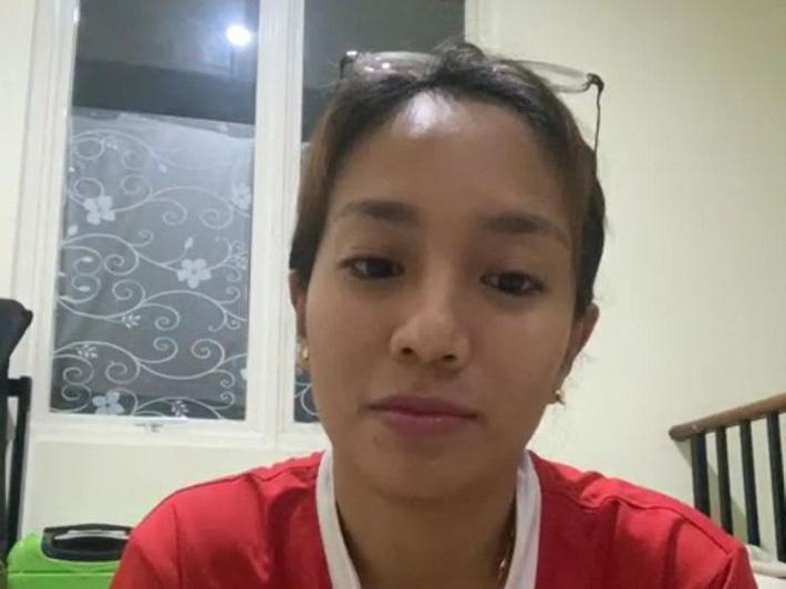 Cựu tuyển thủ Berllian Marsheilla - đồng đội cũ của Aprilia Manganang.