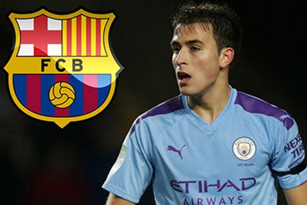 Rời Man City Hè này, Eric Garcia sẽ ký hợp đồng 5 năm với Barca