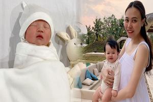 2h sáng Đàm Thu Trang lần đầu hé lộ chân dung ái nữ lúc 1 ngày tuổi, lý do bây giờ mới hé lộ chắc hội mẹ bỉm đồng cảm lắm