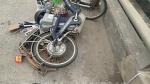 1 phụ nữ đi xe đạp chết do tai nạn giao thông trên đường 399