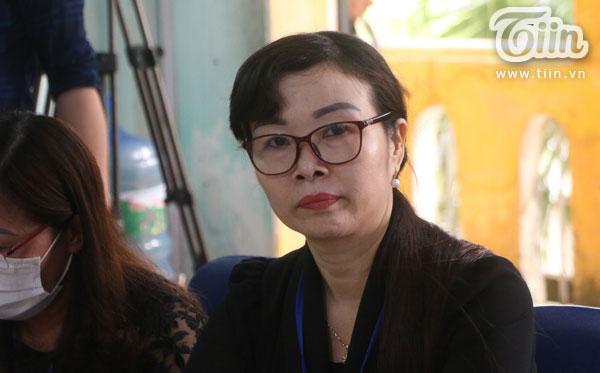 Hiệu trưởng trường Tiểu học Sài Sơn B.