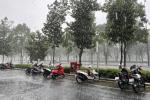 TP.HCM mưa lớn giữa trưa nóng