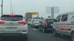 Cao tốc Pháp Vân - Cầu Giẽ - Ninh Bình phải xả trạm gần 2 tiếng