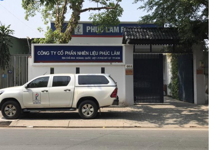 Công ty Phúc Lâm tại TP.HCM
