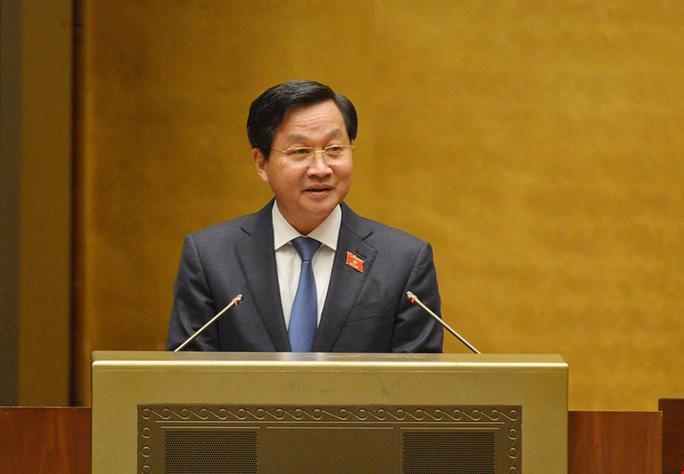 Ông Lê Minh Khái được trình miễn nhiệm chức vụ Tổng Thanh tra Chính phủ để đảm nhận vị trí công tác khác