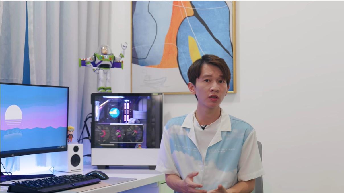 Đại diện ekip Thơ Nguyễn cho biết mục tiêu chính của kênh sẽ là đạt nút kim cương từ YouTube. Ảnh: Cắt từ clip.
