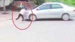 Nữ sinh lớp 9 bị ô tô đẩy lùi cả chục mét vì chặn người đàn ông cướp 2 két bia