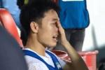 Xuân Trường khóc sau trận thắng CLB Hà Nội