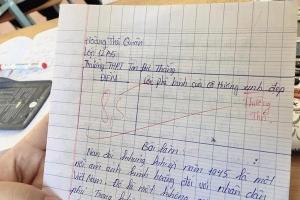 Mạnh dạn viết 'lời đường mật' vào bài kiểm tra, cậu học trò nhận lại câu trả lời cực 'tỉnh' từ cô giáo