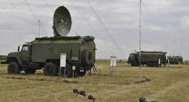 Hệ thống tác chiến điện tử (EW) Polye-21M. Ảnh: Sputnik.