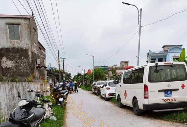 Hiện trường vụ án (ảnh cộng đồng Nam Định)