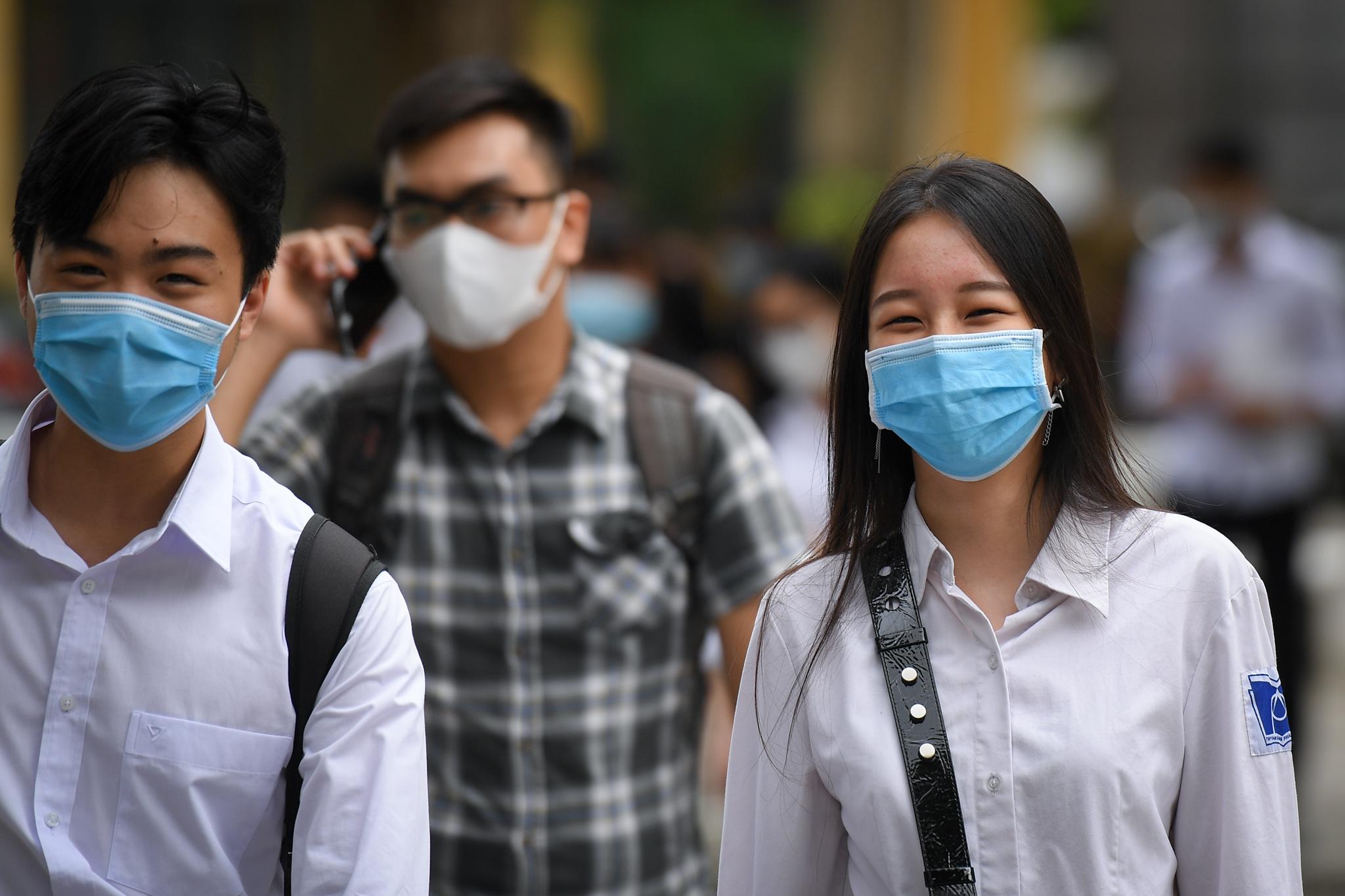 Học sinh Hà Nội tạm dừng đến trường từ ngày 4/5 đến khi có thông báo mới. Ảnh minh họa: Việt Hùng.