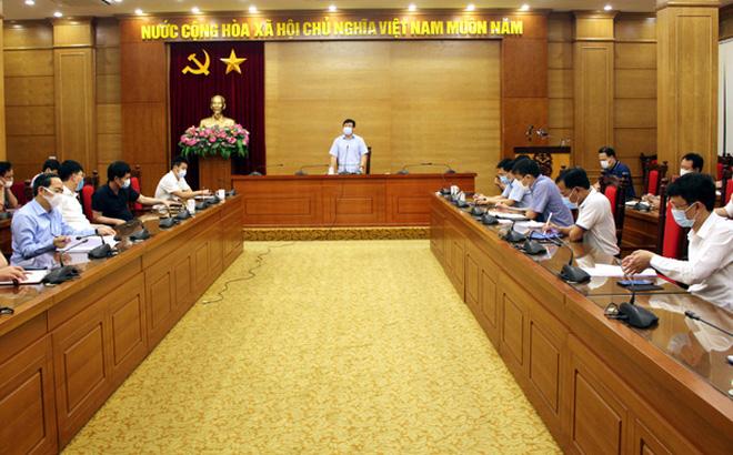 Ông Lê Duy Thành, Phó Bí thư Tỉnh ủy, Chủ tịch UBND tỉnh,Trưởng ban Chỉ đạo phòng, chống dịch bệnh Covid-19 tỉnh Vĩnh Phúc.