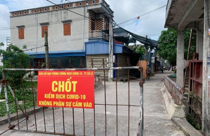 Hưng Yên, Nam Định xuất hiện ca dương tính SARS-CoV-2 ngoài cộng đồng - Ảnh 1.