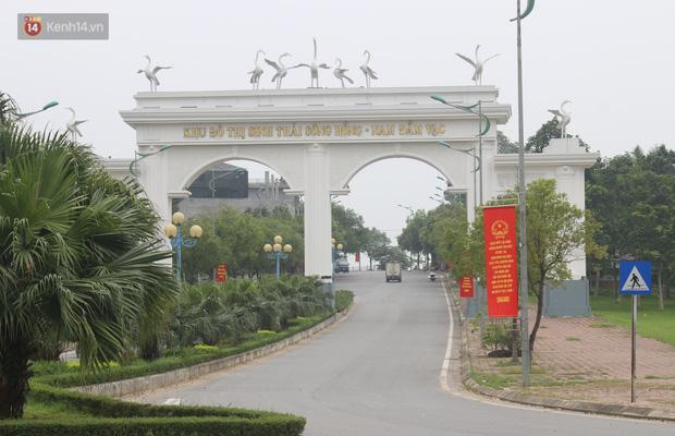 Khu đô thị nằm giữa trung tâm TP Vĩnh Yên, ngày thường vốn là nơi nhộn nhịp.