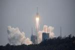 NÓNG: Tên lửa Trường Chinh 5B đã lao xuống biển Ả rập, bị tan thành nhiều mảnh