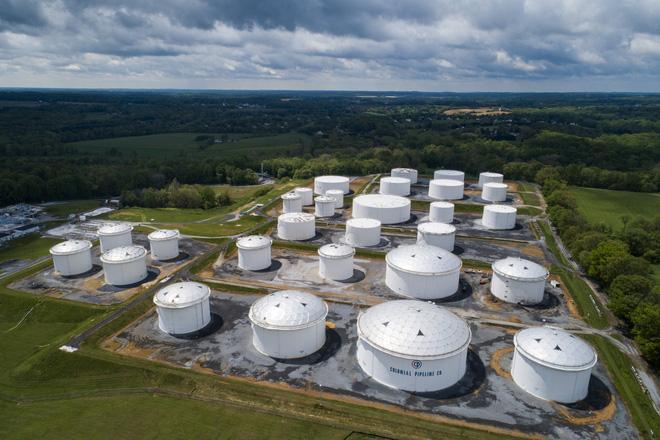 Một kho chứa nhiên liệu của Colonial Pipeline. Ảnh: Daily Sabah.