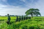 Những hình ảnh gian khổ, hy sinh nơi biên cương Tổ quốc