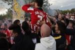 Thiếu niên tử vong thương tâm khi ăn mừng chức vô địch của Atletico