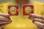 Giá vàng tăng sát mốc 57 triệu đồng/lượng