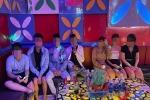 Nhóm thanh niên sử dụng ma túy trong phòng karaoke