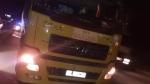 Chặn bắt tài xế xe tải bỏ chạy sau tai nạn làm một phụ nữ tử vong