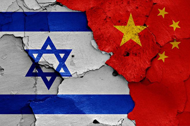 Việc Trung Quốc ủng hộ Palestine khiến Israel không hài lòng.