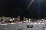 Va chạm xe máy, 2 người tử vong