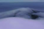 Sương mù huyền bí bao phủ hòn đảo ở Trung Quốc