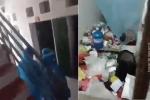 Cảnh tượng gây sốc khi đội y tế rùng mình khi đến phun khử trùng phòng một nữ sinh: 'Tưởng chỉ có trên mạng thôi ai dè Bắc Giang cũng có!'