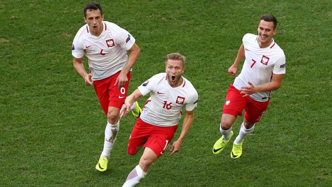 Ba Lan không để thua bàn nào tại EURO 2016 nhưng phải dừng chân ở tứ kết