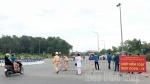 Cận cảnh 10 chốt kiểm soát dịch bệnh COVID-19 ở Phú Thọ bắt đầu hoạt động từ sáng nay