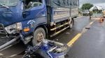 Pleiku: Va chạm với xe tải, 1 người tử vong tại chỗ