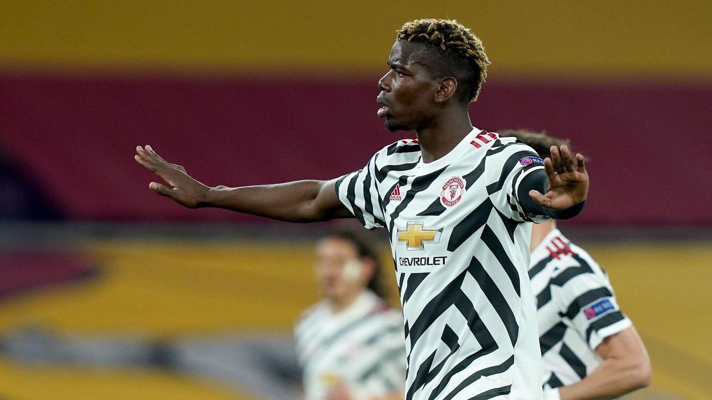 Pogba khi trở lại Man United thì lại mang bộ mặt khác. Ảnh: Reuters.