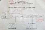 Bất thường giấy xét nghiệm COVID-19 âm tính 'trắng' thông tin ở Bắc Ninh