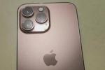 Rò rỉ hình ảnh được cho là iPhone 13 Pro màu vàng hồng