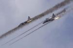 Nga liên tiếp không kích, vây cánh Thổ bị vùi trong mưa bom