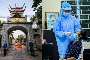 Khẩn trương xét nghiệm hơn 9.000 dân sau khi phát hiện 5 ca mắc Covid-19 ở ngoại thành Hà Nội