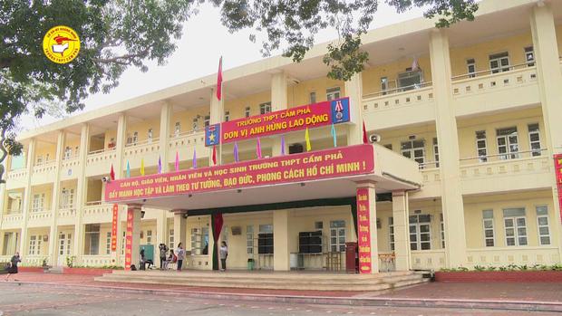 Trường THPT Cẩm Phả, Quảng Ninh. Ảnh: Cổng thông tin điện tử TP Cẩm Phả.